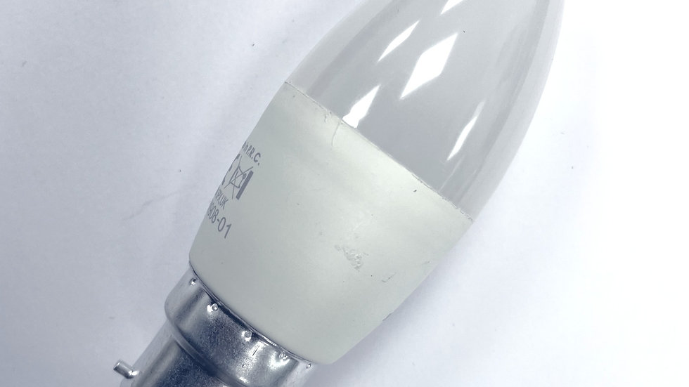 LED - Candle 5w BC Warm white Opal