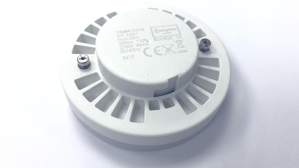 LED GX53 - 5W Warm white