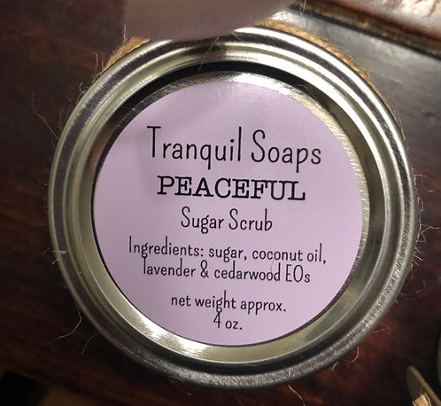 PEACEFUL Sugar Scrub