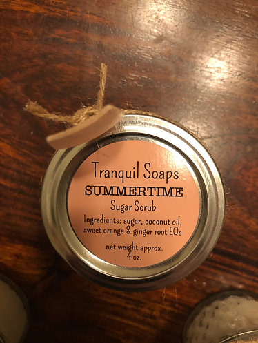 SUMMERTIME Sugar Scrub