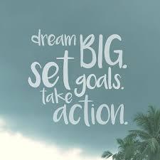 Still goal setting!