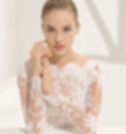rosa clara trouwjurk