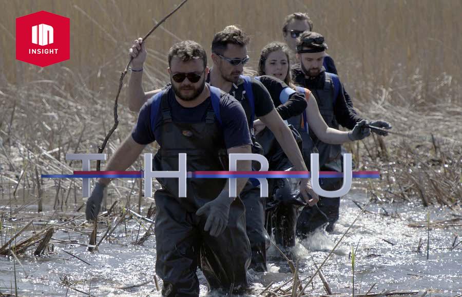 THRU I