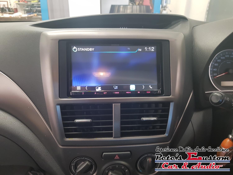 Subaru Kenwood Reverse camera