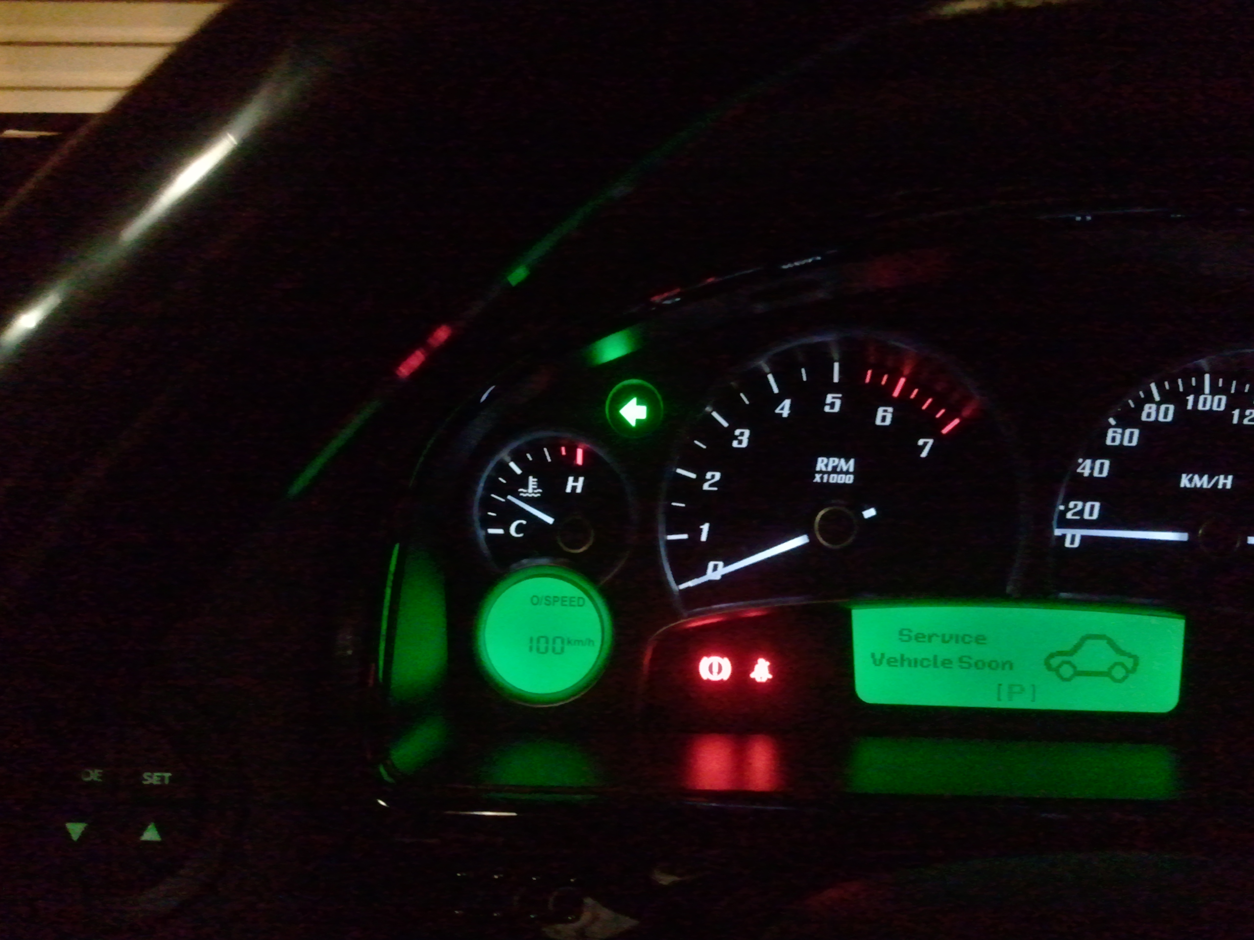 Holden Indicator wont turn off?