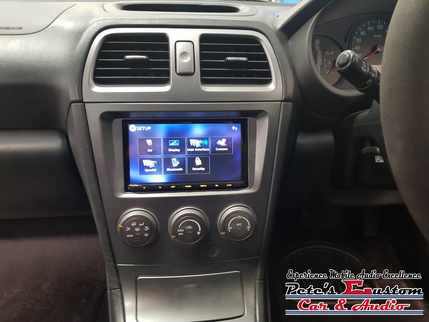 Subaru with a Kenwood touch