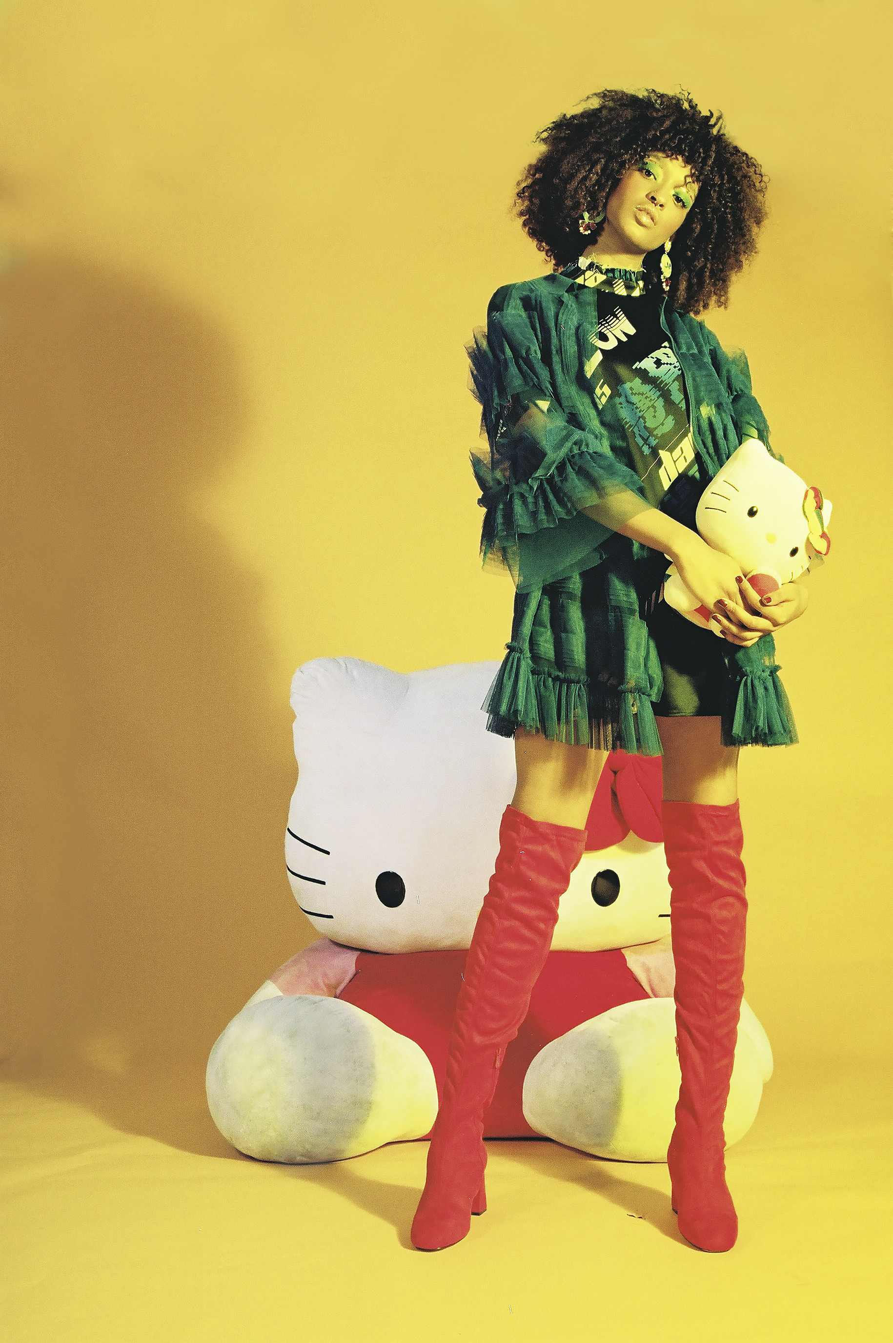 X Hello Kitty for Polyester Zine