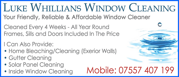 window cleaner  newquay