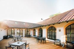 Innenhof Seminarhaus