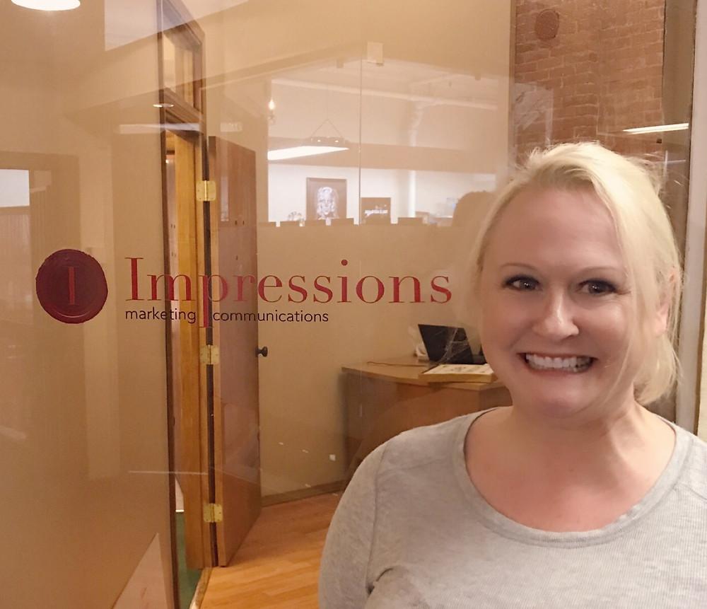 Holly Larsen at Impressions Marketing Communications