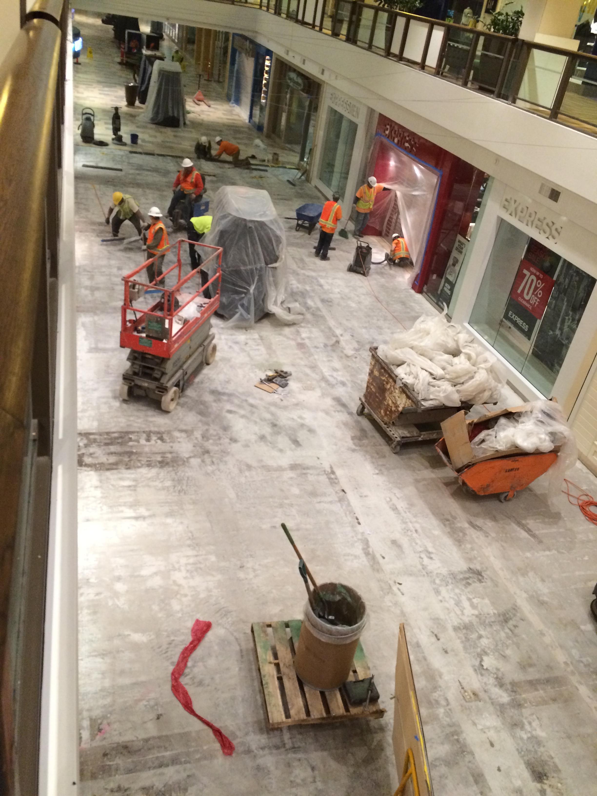 Lloyd Center Deconstruction