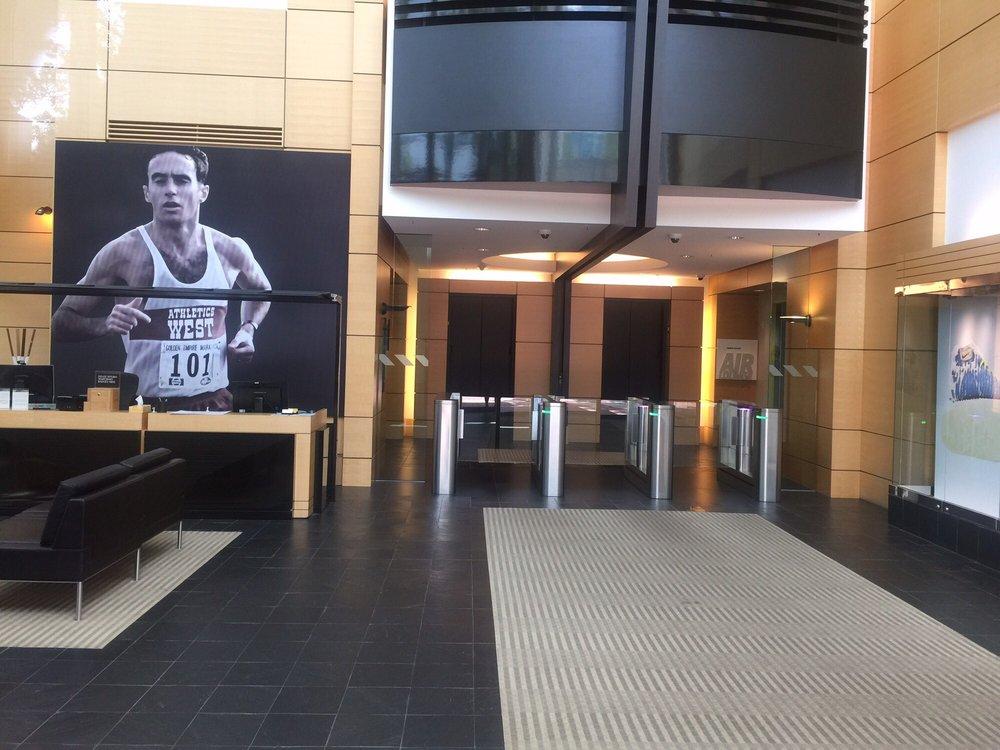 Alberto Salazar Building Lobby
