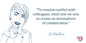Quote from San Francisco Executive Coach Dr. Nadine Greiner