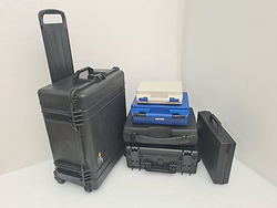 A variety of carry cases