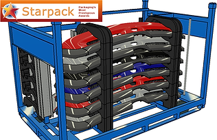 Stack and Pack container