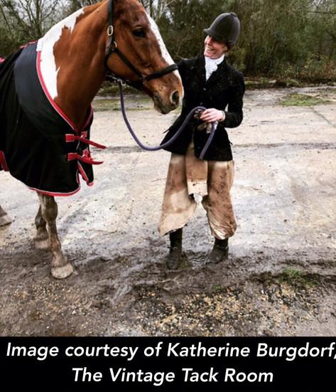 The Vintage Tack Room - Katherine Burgdorf  (Beige ThiDri)