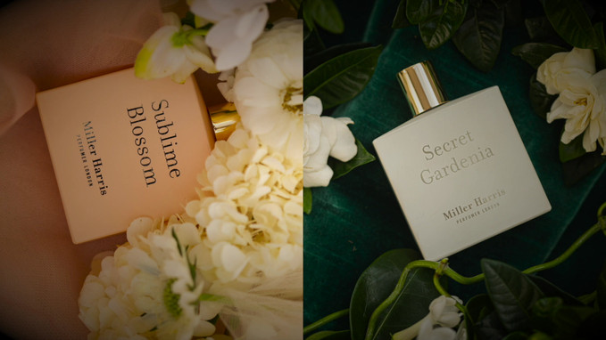 MILLER HARRIS, SECRET GARDINIA & SUBLIME BLOSSOM