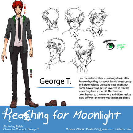 Reaching For Moonlight Character Sheet George T.