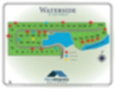 5131 Waterside Site Map with stars r 3-9