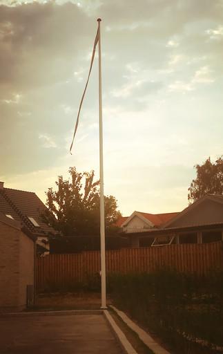 Flagstang bruges nu aktivt på flagdage.