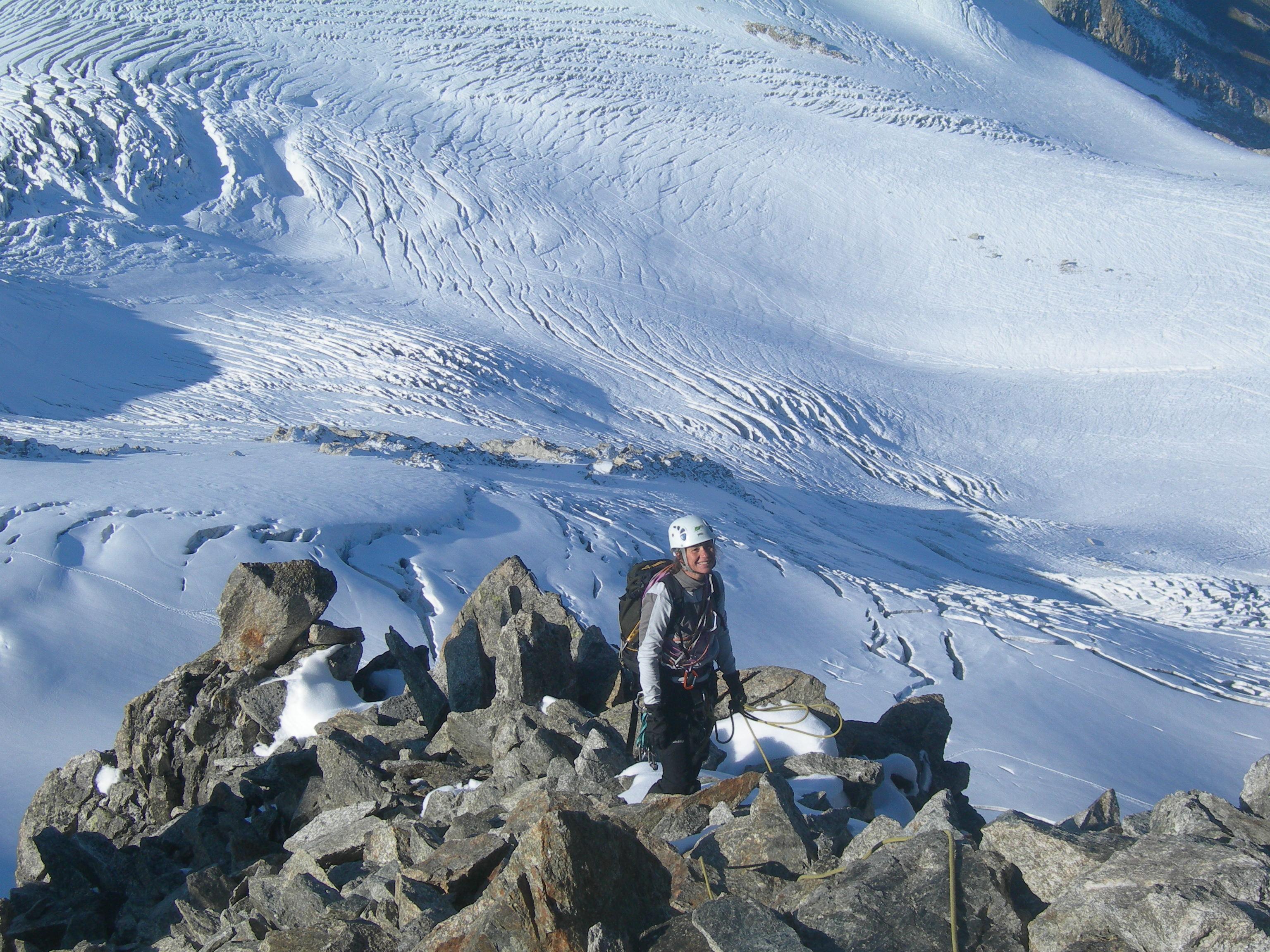 AIGUILLE DU TOUR 3540 m (Mont Blanc)