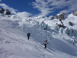 Un peu de ski en altitude : glacier de Toule et Vallée Noire.