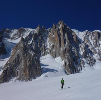 3 belles journées de ski avec Alain...