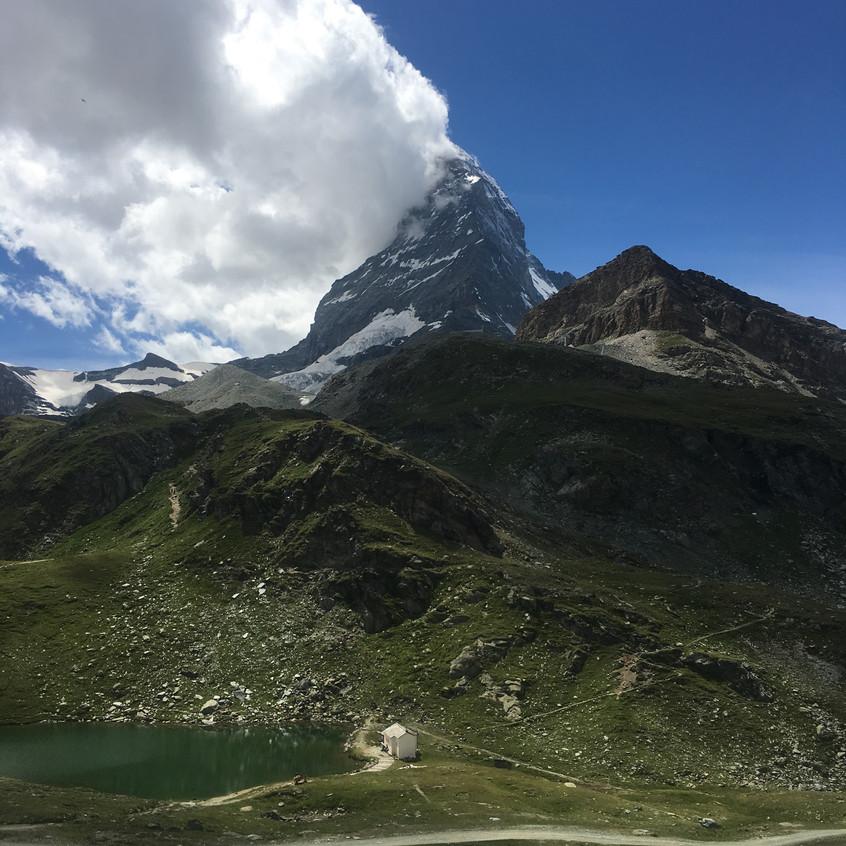 Cervin (Matterhorn) 4478 m.