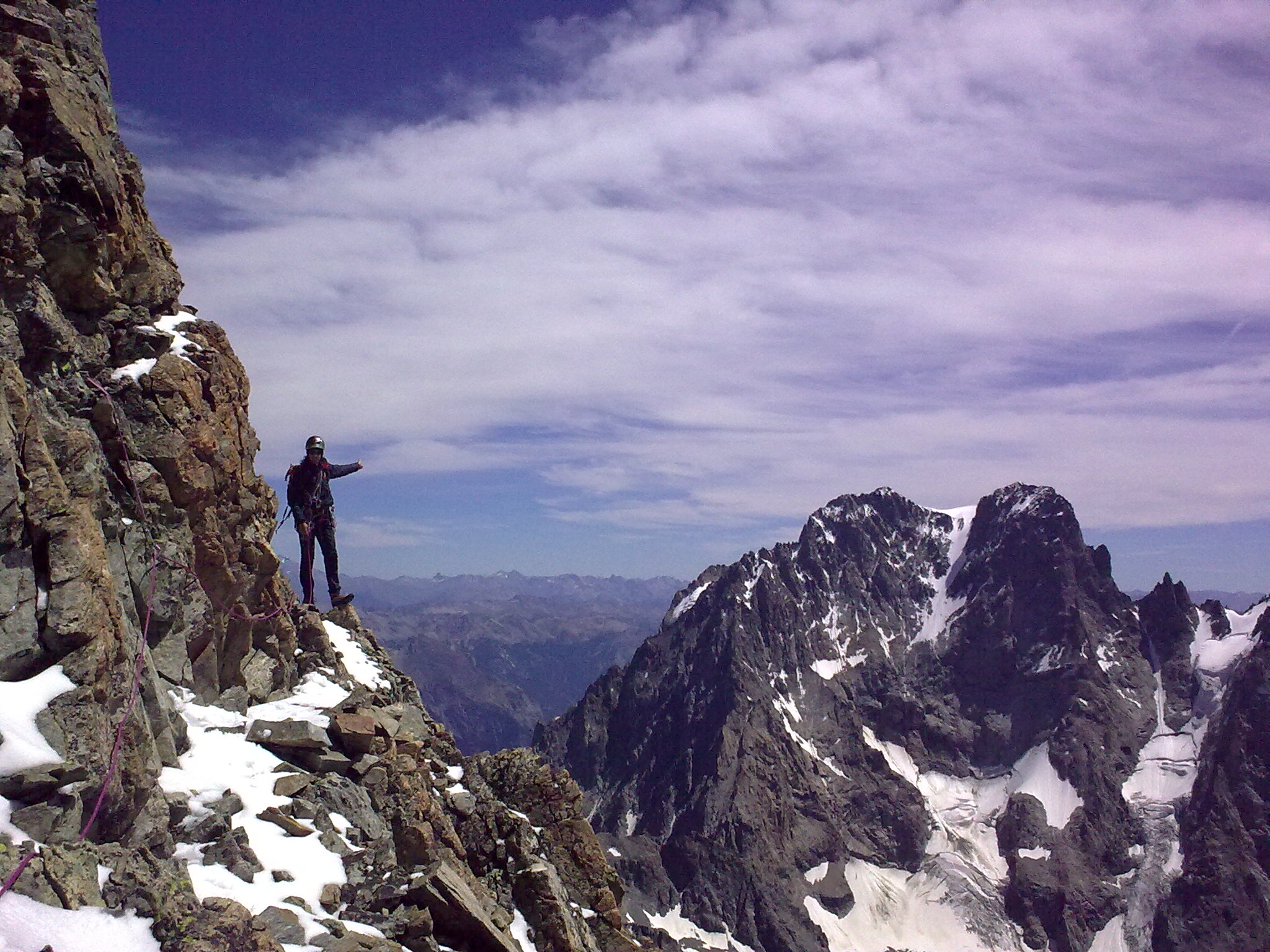 BARRE NOIRE 3751 m (Écrins)