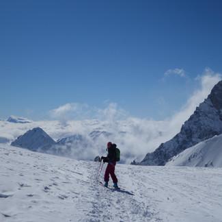 Un peu de ski entre copines...