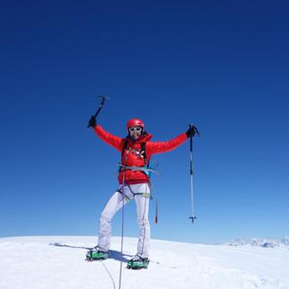 A girly ski tour at Aiguille d'Argentière