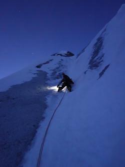 LES DROITES 4001 m (Mont Blanc)