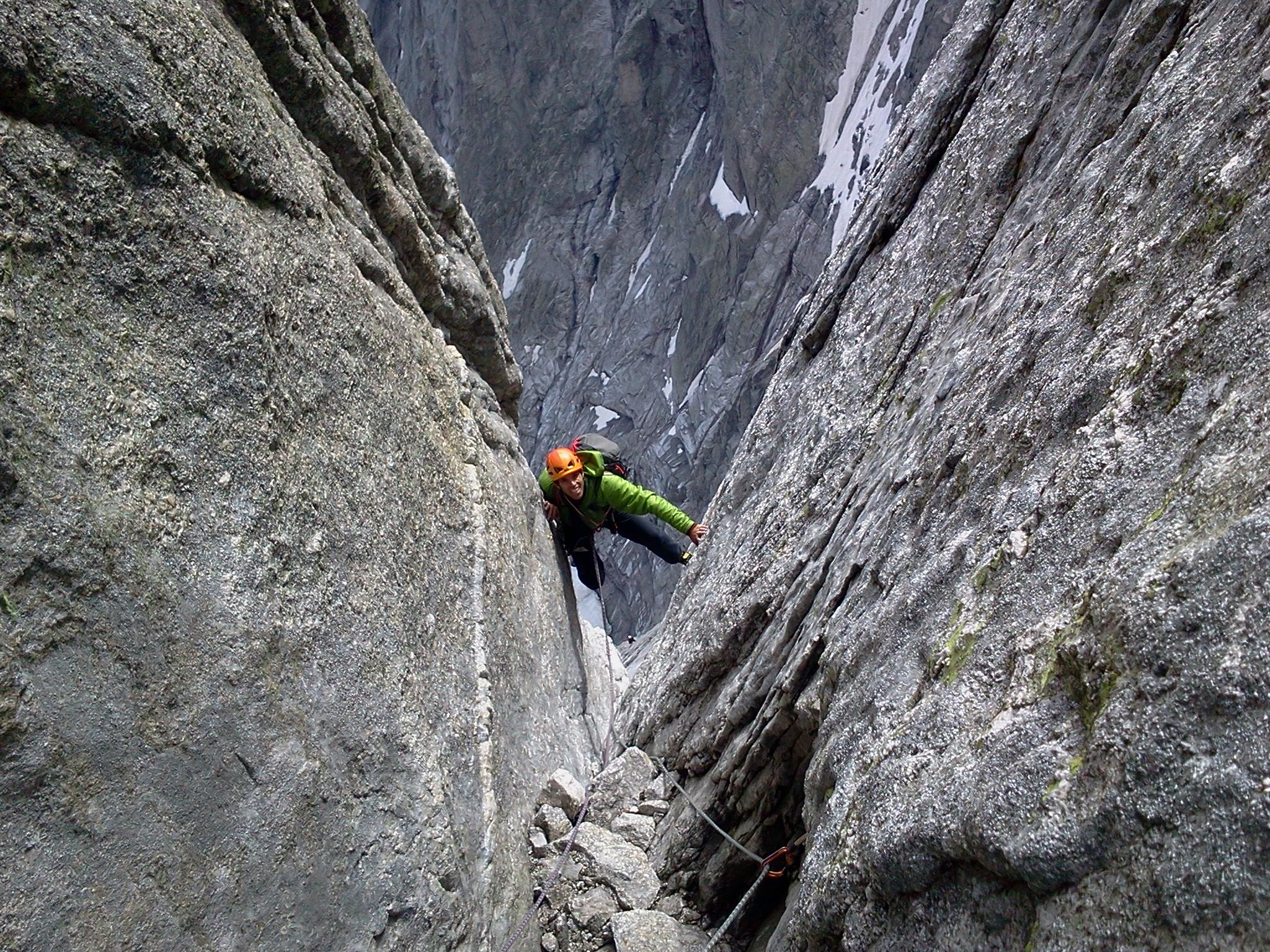 PIZ BADILE 3308 m (Suisse)