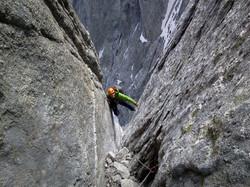 PIZ BADILE 3308 m (Switzerland)