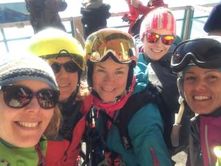 An amazing girls week around Chamonix... skiing ?