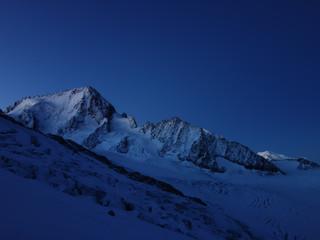 Les 3 frères à l'Aiguille du Tour, 3542 m