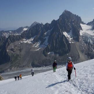 Petite Aiguille Verte, 3512 m