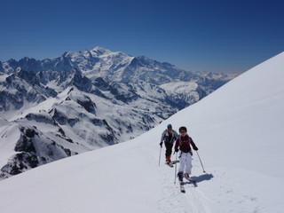 Le Buet en skis de rando à 12 ans !