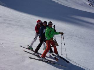 Skiing Mont Buet