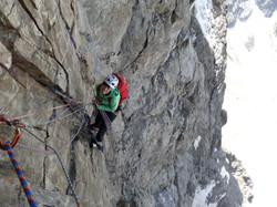 Olan 3564 m (Écrins)