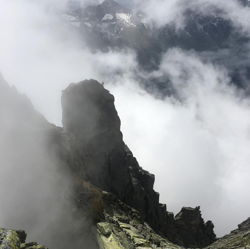 Salbitschijen, arête Sud