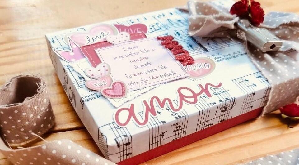"Álbum caixa ""Amor, meu grande amor"""