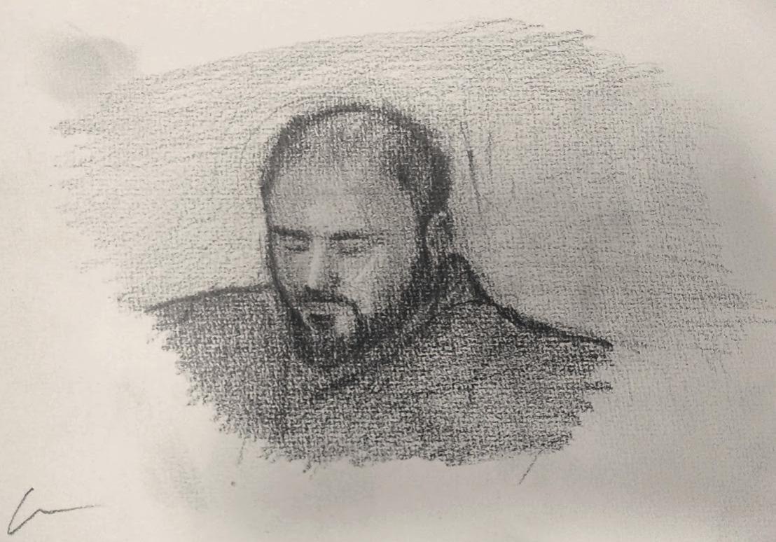 Mati Portrait / Pencil on Paper
