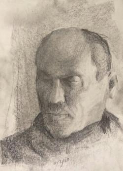 Shaul Portrait / Graphite on Paper
