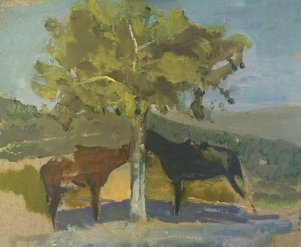 סוסים סטף ציור תמונה