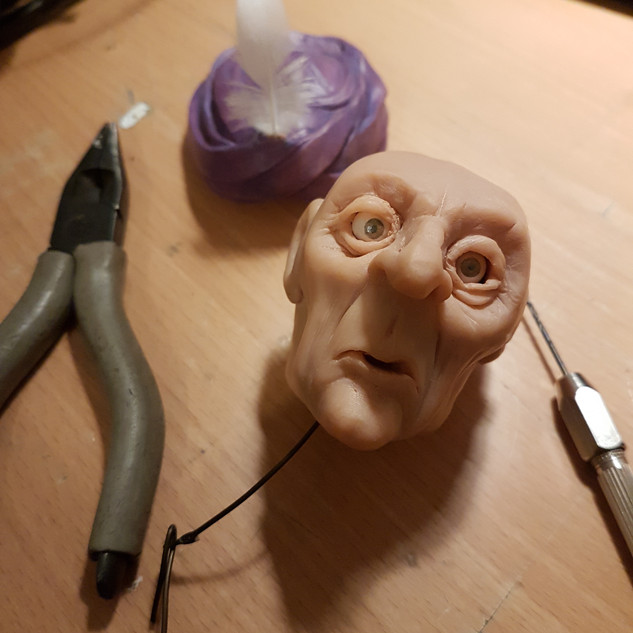 Conjurer Automaton head