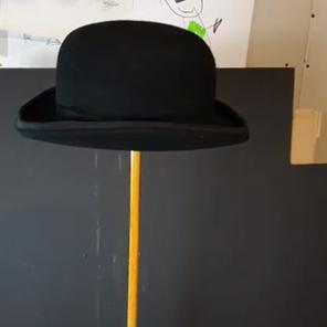 The Infinity Rain Bowler Hat