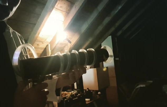 Butane pop cannon