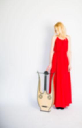 Ieva Baltmiskyte classical guitarist lyre