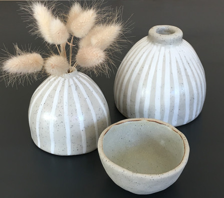 Moonah Vases & Banksia Bowl